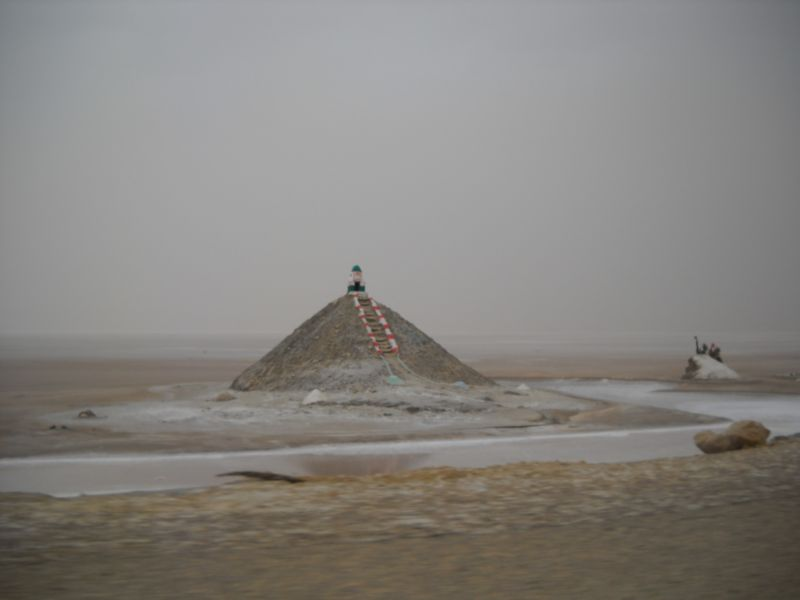 monument sur le chott al jerid