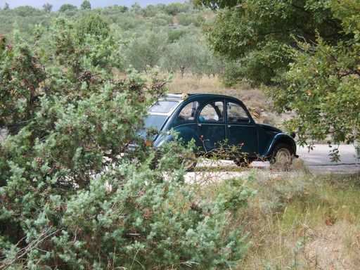 2cv en Ardche