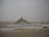 raid 2cv en Tunisie, monument sur le chott al jerid