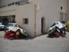 raid 2cv en Tunisie, réparation à Tozeur