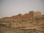 raid 2cv en Tunisie, canyon à Mides