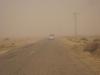 raid 2cv en Tunisie, tempête de sable