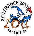 logo mondiale 2cv 2011 à salbris